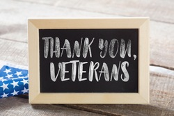 veterans with chalkboard